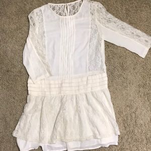 Lace Cream Dress